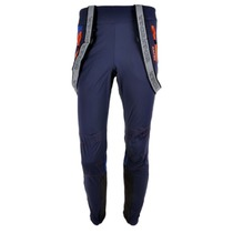 Men pants to cross country skiis Silvini MAZARO MP1110 navy-ocean, Silvini