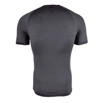 Men functional shirt Silvini Soane MT828 charcoal-cloud, Silvini