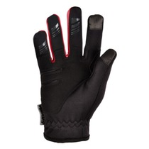 Children gloves Silvini Ortles CA1139 black-red, Silvini