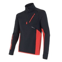 Men hoodie Sensor Tecnostretch black red 15200042, Sensor