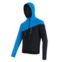 Men hoodie Sensor Tecnostretch black blue 16200131, Sensor