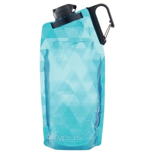 Bottle Platypus DuoLock SoftBottle Blue Prisms 0,75 l, Platypus