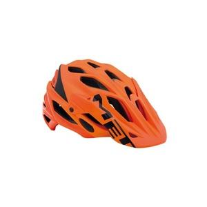 Helmet MET PARABEL LUM orange / black, Met