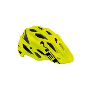 Helmet MET PARABEL LUM fluo yellow / black, Met