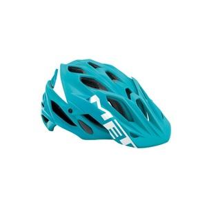 Helmet MET PARABEL LUM emerald green / white, Met
