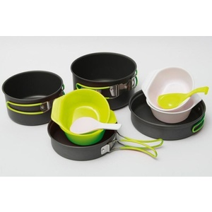 Dishes Pinguin Quadri alu