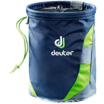 Bag to magnesium Deuter Gravity Chalk Bag II L Navy-granite, Deuter