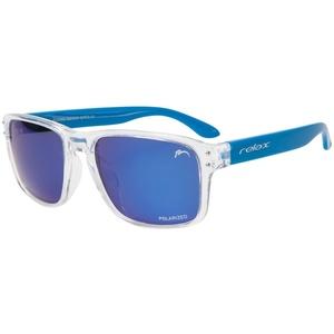 Sun glasses RELAX Beach clear blue R2318D, Relax