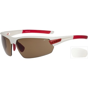 Sports sun glasses Relax Imbros white red R5387B, Relax