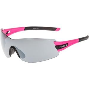 Sports sun glasses Relax Sarnia pink black R5388C
