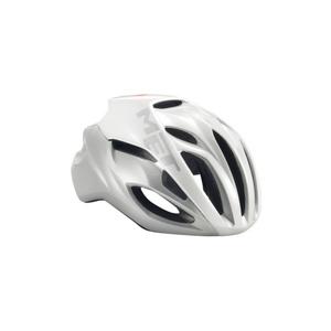 Helmet MET Rivale reflection white / silver, Met