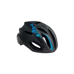 Helmet MET Rivale black / cyan, Met