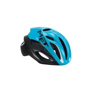 Helmet MET Rivale cyan / black, Met