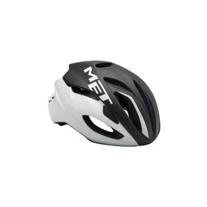 Helmet MET Rivale black / white, Met