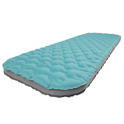 Inflatable sleeping pad YATE VOYAGER 195x66x9 cm petroleum / gray, Yate