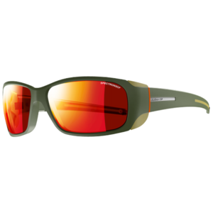 Sun glasses Julbo MONTEBIANCO SP3 CF army / camel / orange, Julbo