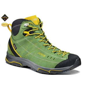 Shoes ASOLO Nucleon Mid GV English Ivy / Yellow A752, Asolo