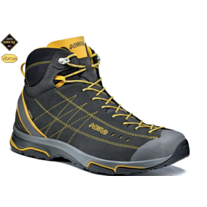 Shoes ASOLO Nucleon Mid GV Graphite / Yellow A147, Asolo