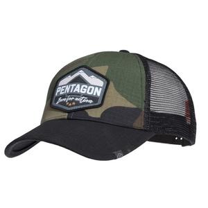Cap Era Trucker Born for action PENTAGON® US woodland, Pentagon