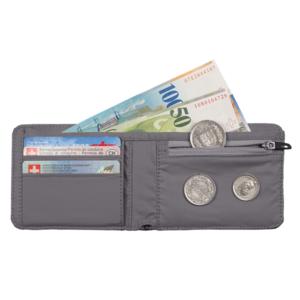 Wallet MAMMUT Flap Wallet Melange Dark lava, Mammut