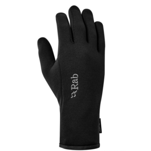 Gloves Rab Power Stretch Contact Glove black / bl, Rab