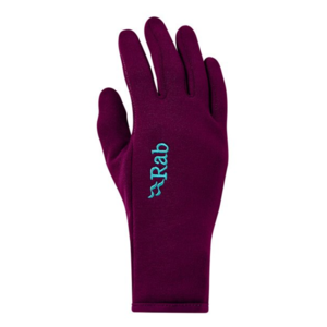 Gloves Rab Power Stretch Contact Glove Women's berry / by, Rab