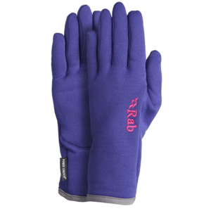 Gloves Rab Power Stretch For Glove Women's indigo / in, Rab