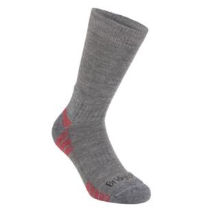 Socks Bridgedale Hike Lightweight Merino Performance Boot grey heather/124, bridgedale
