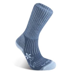 Socks Bridgedale Hike Midweight Merino Comfort Boot Women's blue/436, bridgedale