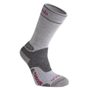Socks Bridgedale Hike Midweight Merino Performance Boot Women's silver/grey/809, bridgedale