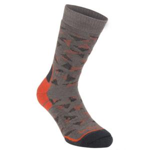 Socks Bridgedale Hike Midweight Merino Performance Boot brown/orange/117, bridgedale