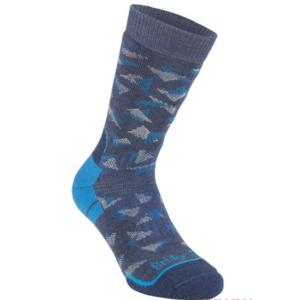 Socks Bridgedale Hike Midweight Merino Performance Boot denim/blue/119, bridgedale