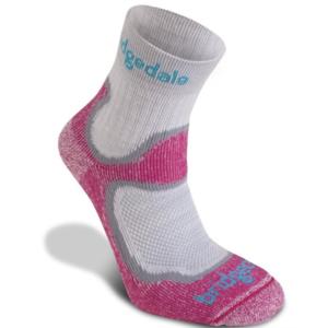Socks Bridgedale Trailsport Lightweight T2 Merino Cool Comfort Crew Women's dusty pink/303