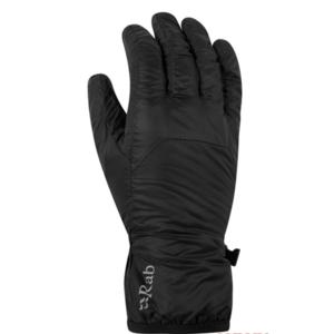 Gloves Rab Xenon Glove black/BL, Rab