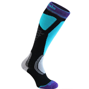 Socks BRIDGEDALE Bridgedale Alpine Tour Women's black/turquoise/045, bridgedale