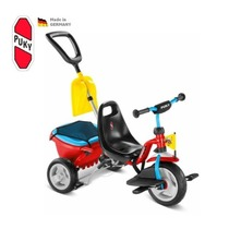 Three-wheeler PUKY Carry CAT 1SP red-blue, Puky