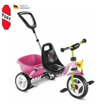 Three-wheeler PUKY Carry Touring Tipper CAT 1S pink, Puky