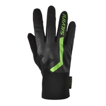 Gloves Silvini TIBER UA1125 green-charcoal, Silvini
