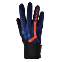 Gloves Silvini TIBER UA1125 navy-orange, Silvini