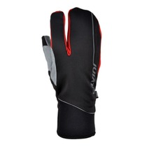 Gloves Silvini Cerreto UA1134 black-red, Silvini