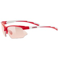 Sports glasses Uvex Sportstyle 802 Vario, Red / White (3804), Uvex