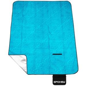 Picnic blanket with strap Spokey PICNIC MANDALA turquoise 180 x 210 cm, Spokey