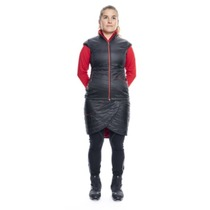Women vest Silvini CONCA WJ1105 black-red, Silvini