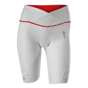 Women cycling pants Silvini Tinelli WP1009 white-red, Silvini