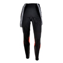 Women pants to cross country skiis Silvini Oatsca For WP1103 black-red, Silvini
