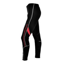 Women elastic pants Silvini MOVENZA WP1119 black-red, Silvini