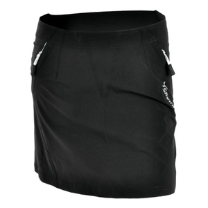Women cycling skirt Silvini Invite WS859 black-white, Silvini