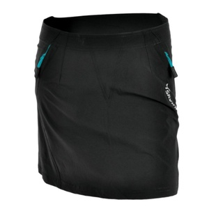 Women cycling skirt Silvini Invite WS859 black-turquoise, Silvini