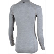 Women functional shirt Silvini Lana WT566 cloud-charcoal, Silvini
