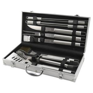 BBQ tools set 11 pc Cattara ALU case, Cattara